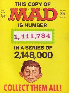 Mad Magazine - Collect Them All
