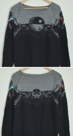 Knitting Pattern for Star Wars Sweater