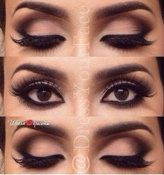 Gorgeous!!! Make-Up for Brown Eyes