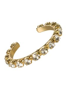 Riveting Romance Cuff Bracelet in Crystal Clear by Sorrelli - $95.00 (http://www.sorrelli.com/products/BCL23BGCCL)