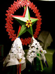 Miniature Filipino Christmas Lantern AKA Parol  by AnelAsCreations, $35.00
