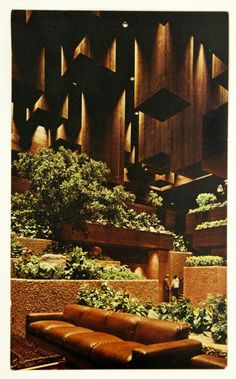 Late Mid-Century 1970s Interior [almost a prototype for Modern Contemporary].