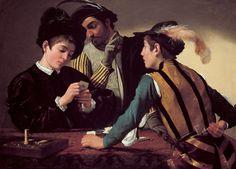 Michelangelo Merisi da Caravaggio (1571 - 1610) | Die Falschspieler (1594/95)