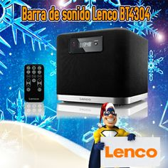 Barra de sonido Lenco BT4304 con Bluetooth