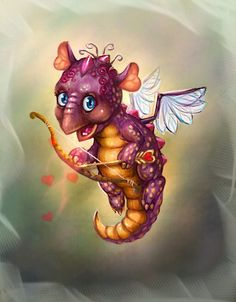 The game concept. This little dragon warrior helps to conquer the enemy For online game www. Fantasy Dragon, Dragon Art, Fantasy Art, Magical Creatures, Fantasy Creatures, Mythical Dragons, Dragon Warrior, Little Dragon, Tiny Dragon