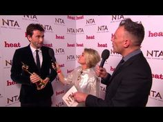 Backstage at the 2015 NTAs with Special Recognition award winner David Tennant. I think it is fair to say, he is still a bit gobsmacked!