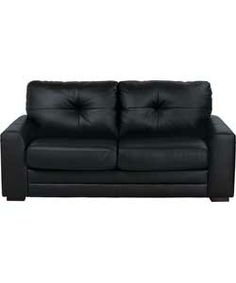 Modern Sectional Sofas Aston Leather Sofa Bed Black