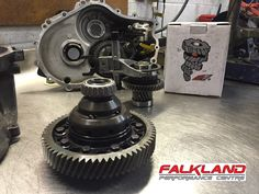 This week we installed the M-Factory helical LSD into the six speed transmission.