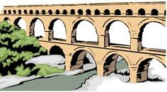 Construct an Aqueduct project. Ancient Rome, math, engineering, science, social studies, hand on/craft.