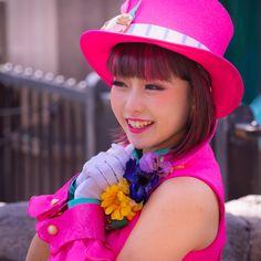 Carnival Festival, Disney Villains, Dancer, Korea, Cosplay, Japan, Actresses, Hats, Pink