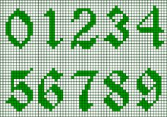 Thrilling Designing Your Own Cross Stitch Embroidery Patterns Ideas. Exhilarating Designing Your Own Cross Stitch Embroidery Patterns Ideas. Crochet Alphabet, Crochet Letters, Alphabet Charts, Cross Stitch Numbers, Cross Stitch Letters, Etsy Embroidery, Embroidery Stitches Tutorial, Embroidery Patterns, Cross Stitch Designs