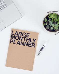 Top 15 Planners For 2015 List Large Monthly Planner from Poketo #poketo #ontheblog