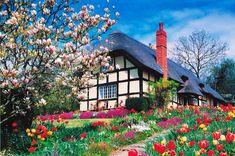 April Flowers (500 Stukjes) The House of Puzzles bij Puzzlestore.nl