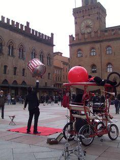 Piazza Maggiore . Bologna (Italy)