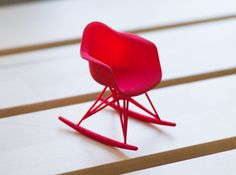 #holidaygift Designer Chair Miniature Rocker by Alminty3D on Etsy