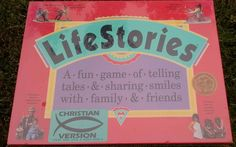 LIFESTORIES fun game of telling tales & sharing smiles w/ family &…