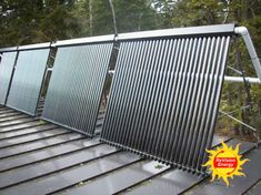 Solar used for hot water and home space heating What Is Solar Power, Solar Power Cost, Solar Panel Kits, Solar Panels For Home, Landscaping Jobs, Landscaping Software, Homemade Solar Panels, Landscape Arquitecture, Solar Activity