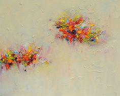 art Giclee Print  16x20 from original abstract oil painting-Abstract Landscape 5- wall decor