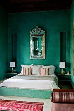 schlafzimmer in dunkel grn wunderschne gestaltung - Schlafzimmer Dunkelgrun