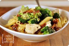 chicken pasta w/broccoli