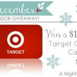 Want a $100 Gift Card to Target??? We're giving one away!!