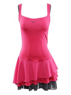 One of my favorite tennis dresses :) Won a huge match wearing this cute little number :)