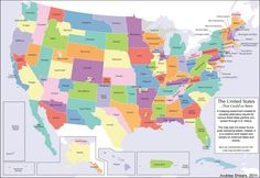 How the United States would look today if every attempt to secede from the union had been successful