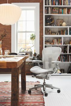 Room Chairs, Dining Chairs, Herman Miller Aeron Chair, Work Chair, Sustainable Furniture, Home Office Chairs, Ergonomic Chair, Office Interiors, Soft Furnishings