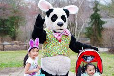EASTER MONDAY AT THE NATIONAL ZOO