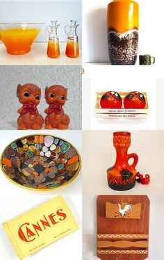Tangerine by Laura Brown on Etsy--Pinned with TreasuryPin.com