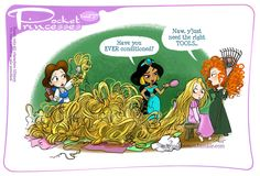 Pocket Princesses 147: REALLY Tangled