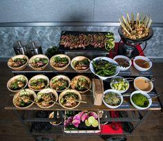 Vietnamese Rice Bowl Cart