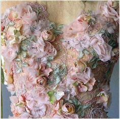 embroidery detail...unlimited imagination