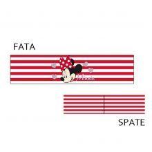 Bentita Minnie Mouse 3 - rosu/alb Minnie Mouse