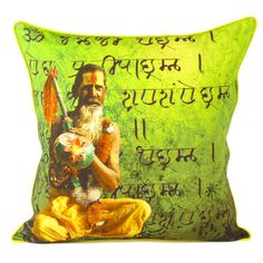 Kissenbezug Sadu von Eyes of India Solid Wood Furniture, Design Your Own, Oriental, Objects, Reusable Tote Bags, Cushions, Throw Pillows, Indian India, Cotton Pillow