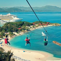 Fly down the world's longest zip line. @Colby Reynolds
