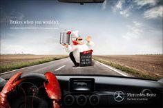 Mercedes Benz: Lobster