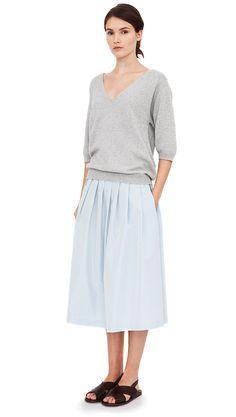 Midi Skirts with Flats by /u/chadnik - Imgur