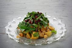 Another winter CSA idea: Hearty salad features greens and potatoes.