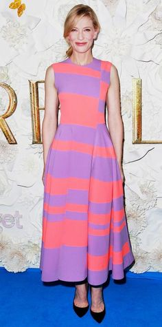 Look of the Day - March 16, 2015 - Cate Blanchett in Roksanda from #InStyle