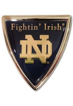 University of Notre Dame Fighting Irish Car Decal | University Of Notre Dame