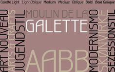 Galette Font | dafont.com