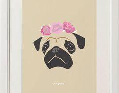 "Behance ""Frida Carlina"" Personalized Pets Portraits"