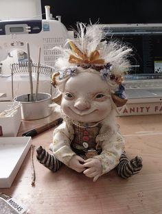 dolls stories - Art Dolls by Katya Tal