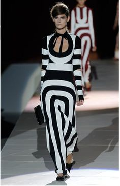 Designer work inspired by 1960s fashion- Marc Jacob's Spring 2013 line was greatly inspired by Op Art as well as Mod fashion