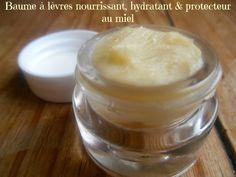 Baume à lèvres nourrissant, hydratant & protecteur au miel
