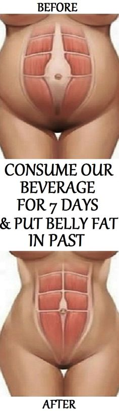 In this article, we will show you beverage that if consumed for 7 days, will help you to burn belly fat and stay healthy at the same time!