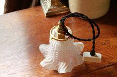 アンティークランプシェードペンダントライトフランス Antique lamp shade ¥9500yen 〆04月05日
