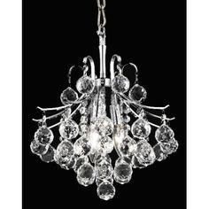 Elegant Lighting Toureg 3 Light Chandelier & Reviews | Wayfair