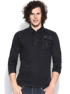Dream of Glory Inc. Black Polo T-shirt